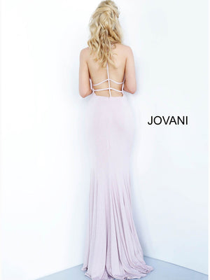 Jovani 68509 prom dress images.  Jovani 68509 is available in these colors: Blush, Burgundy, Hunter, Light Blue, Navy.