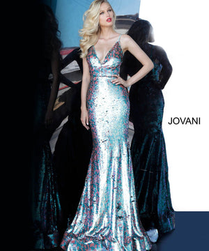 Jovani 68705 prom dress images.  Jovani 68705 is available in these colors: Multi.