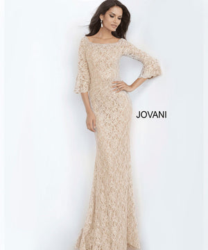 Jovani 68810 prom dress images.  Jovani 68810 is available in these colors: Champagne.
