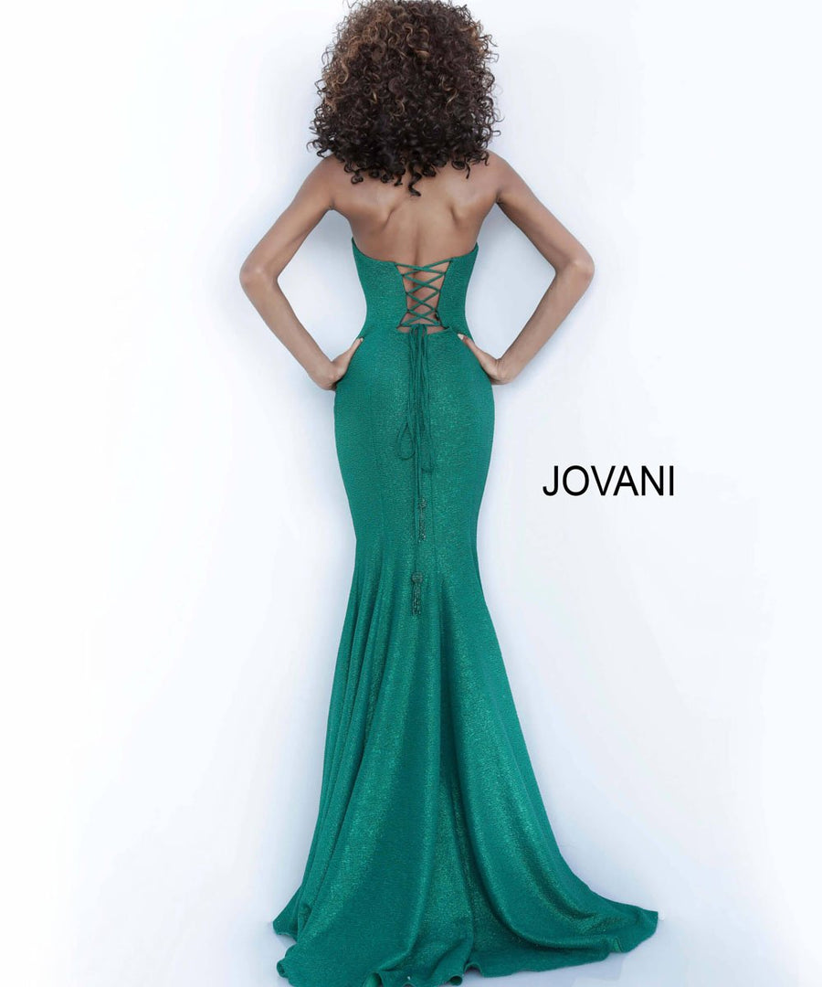 Jovani 8063 prom dress images.  Jovani 8063 is available in these colors: Emerald, Steel.