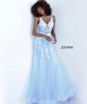 Jovani 8066 prom dress images.  Jovani 8066 is available in these colors: Navy Black, Off White Blush, Off White Light Blue, Off White Lilac, Off White Yellow.