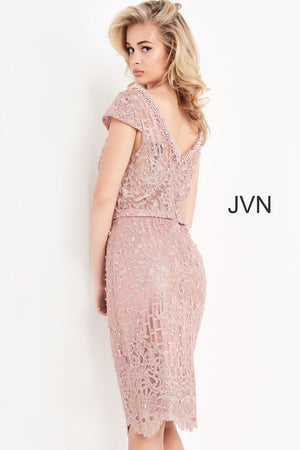 Jovani JVN02246 prom dress images.  Jovani JVN02246 is available in these colors: Mauve.