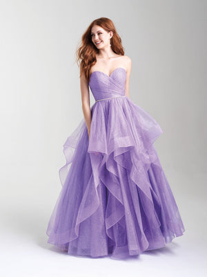 Madison James 20-300 prom dress images.  Madison James 20-300 is available in these colors: Pink, Purple, Blue.