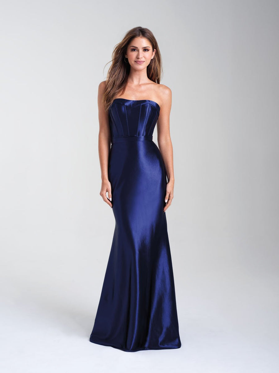 Madison James 20-304 prom dress images.  Madison James 20-304 is available in these colors: Pink, Navy, Silver.