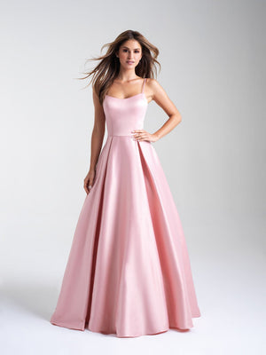 Madison James 20-314 prom dress images.  Madison James 20-314 is available in these colors: Blush, Dark Purple, Peacock.