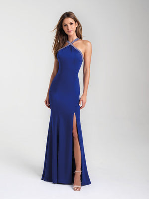Madison James 20-324 prom dress images.  Madison James 20-324 is available in these colors: Black, Royal, Fuchsia.