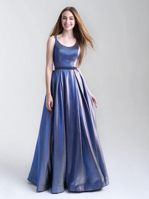 Madison James 20-346 prom dress images.  Madison James 20-346 is available in these colors: Pink, Blue, Peacock, Turquoise.