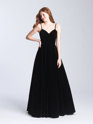 Madison James 20-349 prom dress images.  Madison James 20-349 is available in these colors: Black, Navy, Red, Emerald.