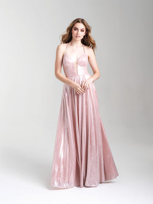 Madison James 20-352 prom dress images.  Madison James 20-352 is available in these colors: Pink, Red, Green.