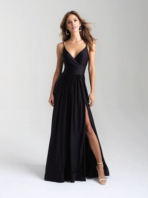 Madison James 20-359 prom dress images.  Madison James 20-359 is available in these colors: Hot Pink, Royal, Black, Bronze, Green.