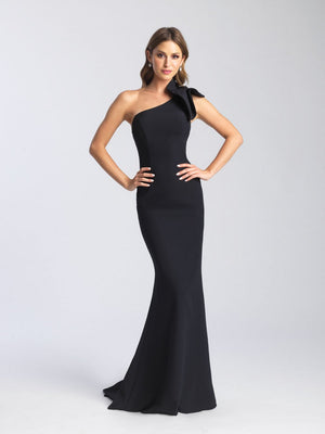 Madison James 20-366 prom dress images.  Madison James 20-366 is available in these colors: Royal, Black, Red, White, Yellow, Purple.