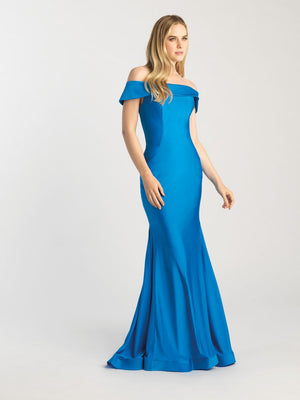 Madison James 20-397 prom dress images.  Madison James 20-397 is available in these colors: Green, Blue, Canary.