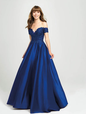 Madison James 19-102 prom dress images.  Madison James 19-102 is available in these colors: Black, Burgundy, Gold, Royal, Cerise.