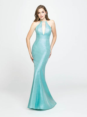 Madison James 19-112 prom dress images.  Madison James 19-112 is available in these colors: Blush, Turquoise, Dark Gray.