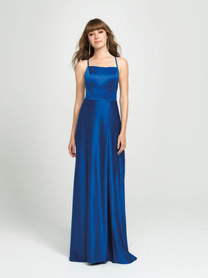 Madison James 19-115 prom dress images.  Madison James 19-115 is available in these colors: Yellow, Aqua, Red, Royal.