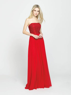 Madison James 19-120 prom dress images.  Madison James 19-120 is available in these colors: Purple, Black, Red.