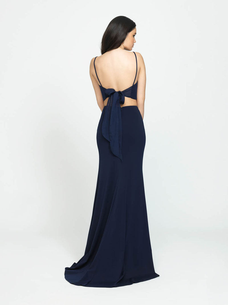 Madison James 19-123 prom dress images.  Madison James 19-123 is available in these colors: Red, Navy, Royal, Blush, Teal.