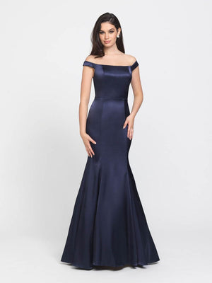 Madison James 19-161 prom dress images.  Madison James 19-161 is available in these colors: Fuchsia, Navy, Mauve, Teal.