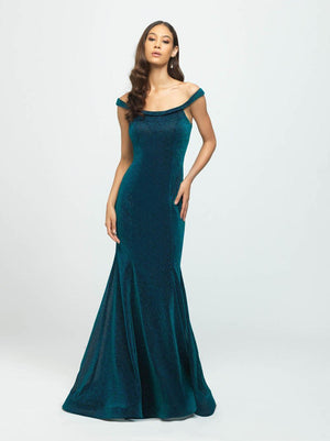 Madison James 19-164 prom dress images.  Madison James 19-164 is available in these colors: Green, Fuchsia.