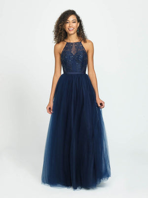 Madison James 19-188 prom dress images.  Madison James 19-188 is available in these colors: Black, Navy, Red, White.