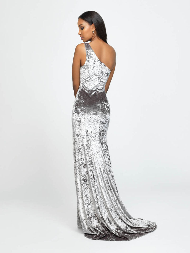 Madison James 19-192 prom dress images.  Madison James 19-192 is available in these colors: Navy, Wine, Silver.