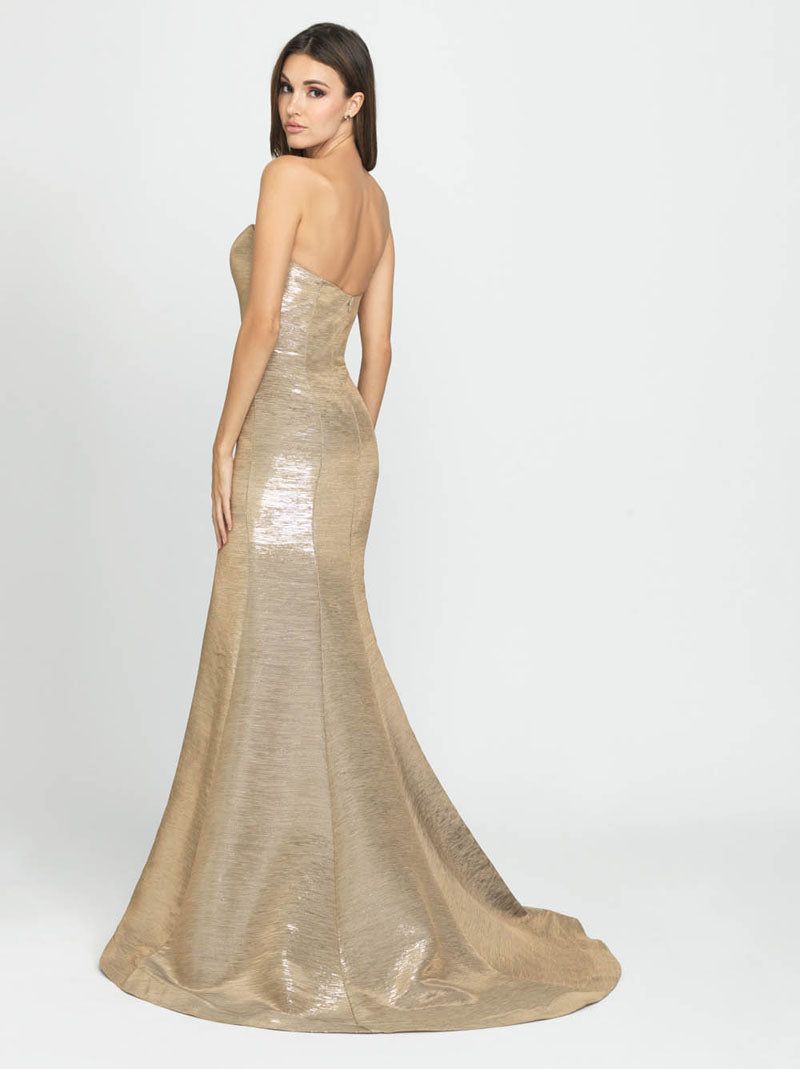Madison James 19-194 prom dress images.  Madison James 19-194 is available in these colors: Navy, Coffee.