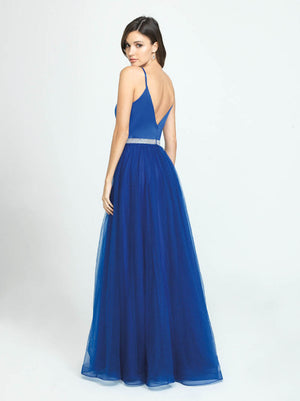Madison James 19-196 prom dress images.  Madison James 19-196 is available in these colors: Black, Red, Royal.
