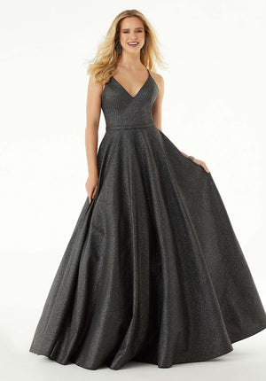 Morilee 45048 prom dress images.  Morilee 45048 is available in these colors: Graphite, Pink.