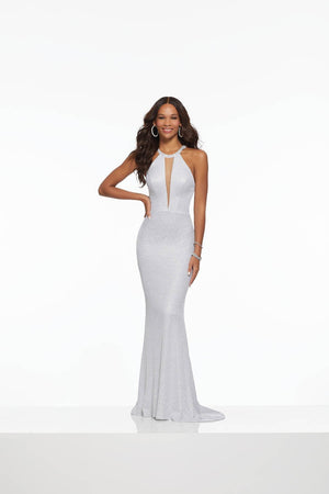 Morilee 43024 prom dress images.  Morilee 43024 is available in these colors: Gold, Silver.