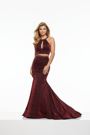 Morilee 43028 prom dress images.  Morilee 43028 is available in these colors: Black Gold, Black Wine.