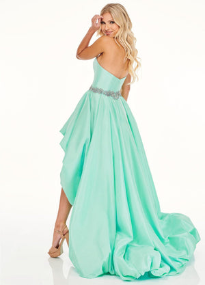 Rachel Allan 70068 prom dress images.  Rachel Allan 70068 is available in these colors: Mint, Pink Coral.