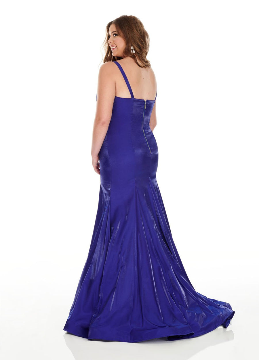 Rachel Allan 7225 prom dress images.  Rachel Allan 7225 is available in these colors: Royal, Wine.