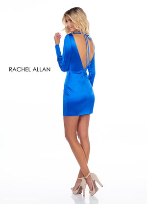 Rachel Allan 4011 prom dress images.  Rachel Allan 4011 is available in these colors: Red,Royal,Magenta.