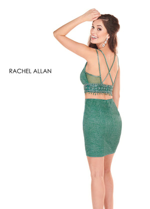 Rachel Allan 4044 prom dress images.  Rachel Allan 4044 is available in these colors: Royal,Deep Emerald .