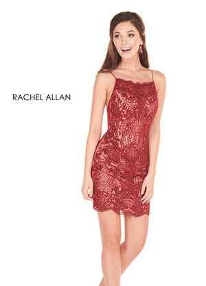 Rachel Allan 4064 prom dress images.  Rachel Allan 4064 is available in these colors: Marsala Nude,Black Nude  .