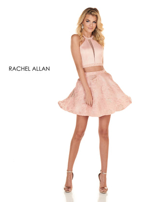 Rachel Allan 4074 prom dress images.  Rachel Allan 4074 is available in these colors: Blush,Black Marsala.