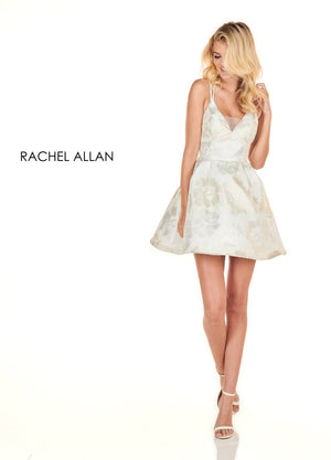 Rachel Allan 4082 prom dress images.  Rachel Allan 4082 is available in these colors: White Gold,Pink.