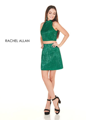 Rachel Allan 4104 prom dress images.  Rachel Allan 4104 is available in these colors: Black Cherry,Royal,Jade.