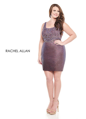 Rachel Allan 4830 prom dress images.  Rachel Allan 4830 is available in these colors: Deep Mauve,Gold.