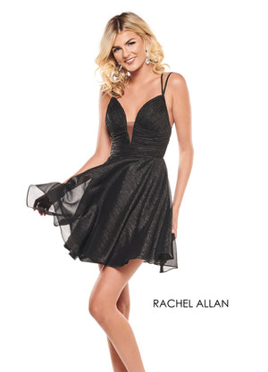 Rachel Allan L1236 prom dress images.  Rachel Allan L1236 is available in these colors: Black,Red,White.