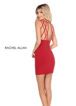Rachel Allan L1253 prom dress images.  Rachel Allan L1253 is available in these colors: Black,Red,White.