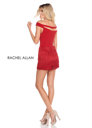 Rachel Allan L1258 prom dress images.  Rachel Allan L1258 is available in these colors: Black,Red,White.
