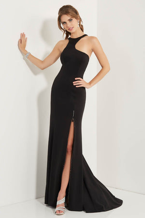 Studio 17 12716 prom dress images.  Studio 17 12716 is available in these colors: Black, Red.