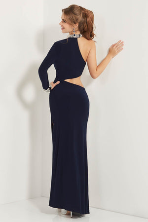 Studio 17 12734 prom dress images.  Studio 17 12734 is available in these colors: Navy, Red.
