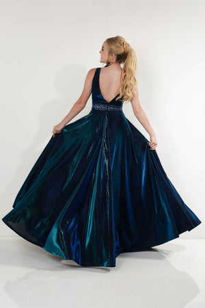 Studio 17 12754 prom dress images.  Studio 17 12754 is available in these colors: Gold, Royal.
