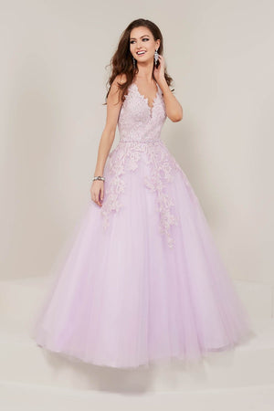 Tiffany 16332 prom dress images.  Tiffany 16332 is available in these colors: Lilac, Mint, Wine.