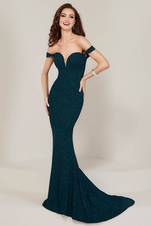 Tiffany 16353 prom dress images.  Tiffany 16353 is available in these colors: Midnight, Red, Teal.