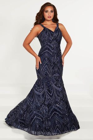 Tiffany 16376 prom dress images.  Tiffany 16376 is available in these colors: Ivory, Navy, Rose Pink.