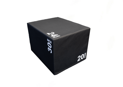 Plyometric Boxes, 3in1, Wooden Core with Soft Cover