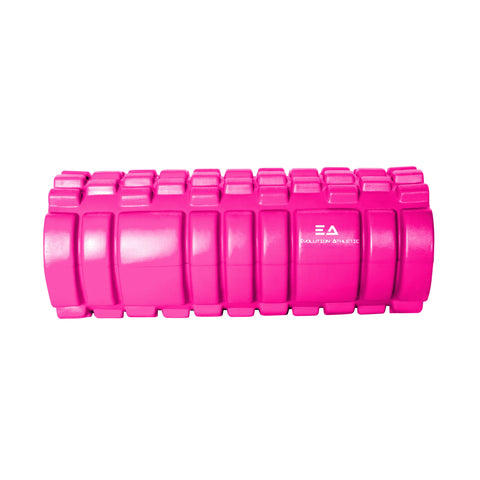Foam Rollers  Foam rollers and other massage accessories help to aid muscle recovery, reduce soreness and tightness in muscles. Use them every day before and after working out to assist in mobility and increase recovery time.  Evolution Athletics three dimensional surface has a variety of widths to replicate the feeling of a massage therapist's hands.